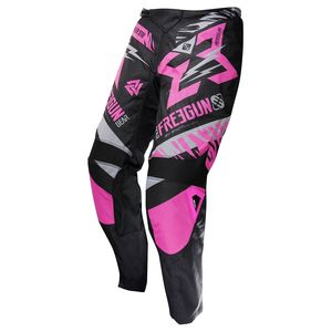 Pantalon Cross Shot Destockage Devo Trooper Neon Rose Gris Enfant 2017