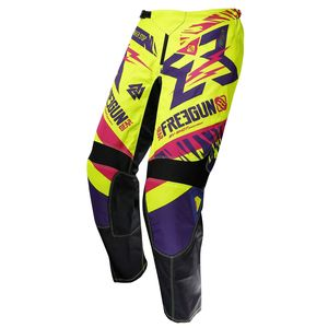 Pantalon Cross Shot Destockage Devo Trooper Neon Jaune Magenta Enfant 2017