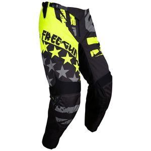 Pantalon cross DEVO USA NEON YELLOW ENFANT  Jaune