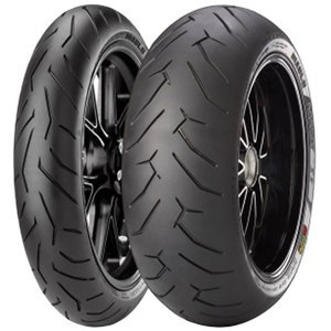 Pneumatique Pirelli DIABLO ROSSO II 120/70 ZR 17 (58W) TL