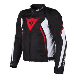 Blouson AVRO D2 TEX  Black/Red