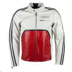 Blouson TOGA72  White-S/Red