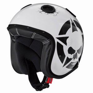 Casque DOOM DARKSIDE  Blanc/Noir