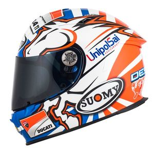 Casque SR SPORT - DOVIZIOSO GP REPLICA DUCATI  Blue White Red