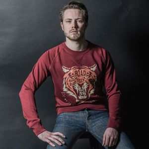 Sweat TIGER  Bordeaux