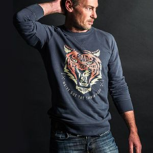 Sweat TIGER  Gris
