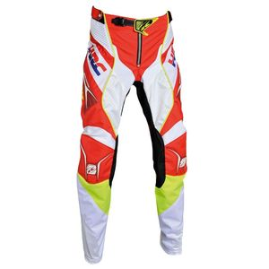 Pantalon cross HONDA HRC TITANIUM - RED WHITE 2018 Red White