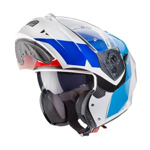 Casque DUKE II - IMPACT - GLOSS  Blanc Rouge Bleu