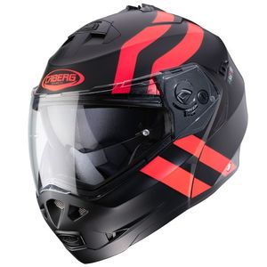 Casque DUKE II SUPERLEGEND MAT  Noir/Rouge