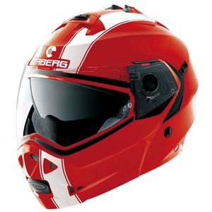 Casque DUKE II - LEGEND  Rouge/Blanc