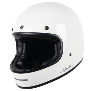 Casque MARTY  White Glossy