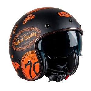 Casque ELEMENT DMC  Black/Orange