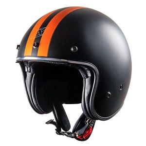 Casque ELEMENT STRIPE  Black/Orange