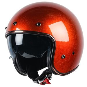 Casque ELEMENT FLAKE - PAILLETTE  Orange
