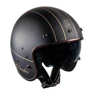 Casque PLUCKER SUGAR HILL  Black/Gold Mat