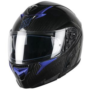 Casque ADRON CARBON LIMITED EDITION  Blue Metal