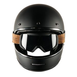 Casque Dexter Marty Black Matt And Binocle Pack