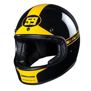 Casque Dexter Marty Fifty Niner Yellow