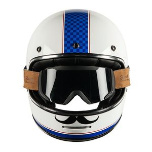 Casque MARTY GUIDON AND BINOCLE PACK  White/Blue