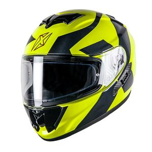 Casque Dexter Nucleon Kriss Fluo