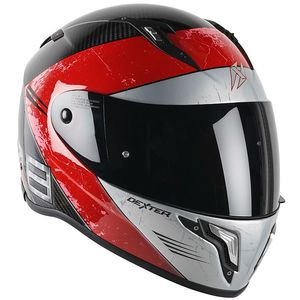 Casque CRONOS CARBON DOMIN8  Carbon/Red