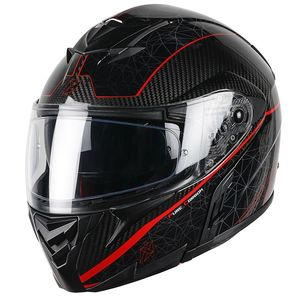 Casque ADRON CARBON PURETECH  Black/Red