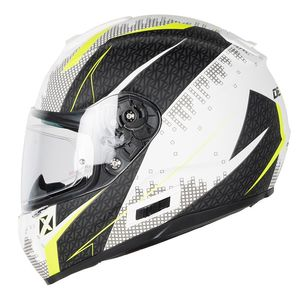 Casque OPTIMUS RADIUS  White mat / Yellow fluo