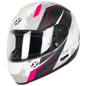 Casque OPTIMUS RADIUS  White mat / Pink