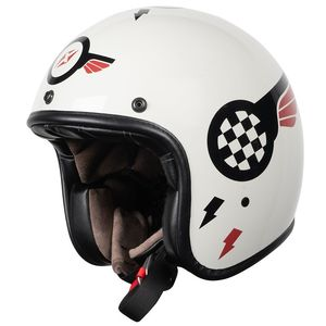 Casque QUARKS STICKER  Grey/Black