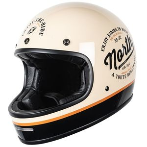 Casque MARTY A TOUTE BERZINGUE  Cream/Black
