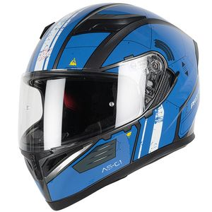 Casque PROTON AS-01  Blue/White