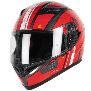 Casque PROTON AS-01  Red/White