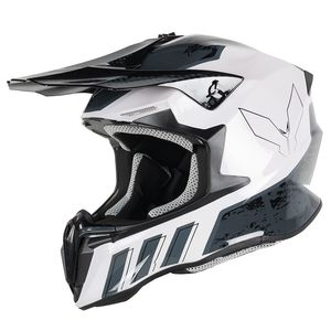 Casque cross DIRT CANCAN 2021 Black/White