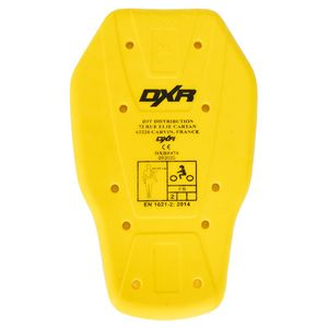 Dorsale BACK PROTECTOR CE LEVEL 2  Yellow