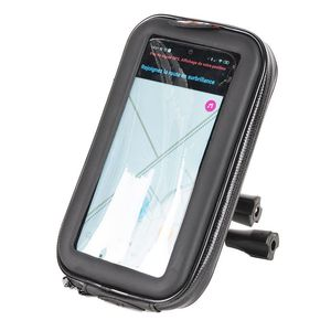 Support SUPPORT GUIDON & SACOCHE SMARTPHONE UNIVERSELLE  Black