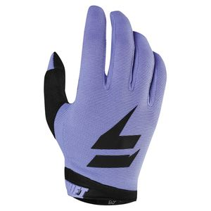Gants cross WHITE AIR - PUR 2019 Noir Violet