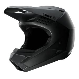 Casque cross YOUTH WHIT3 - BLACK MAT  Noir mat