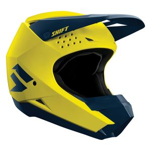 Casque Cross Shift Whit3- Yellow Navy 2019