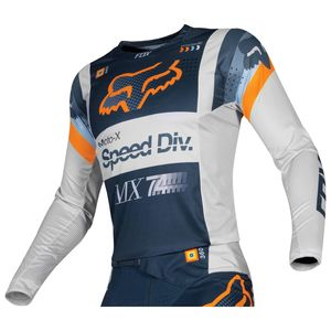 Maillot Cross Fox 360 - Murc - Light Grey 2019