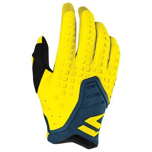 Gants cross 3LACK PRO - YELLOW NAVY 2019 Jaune