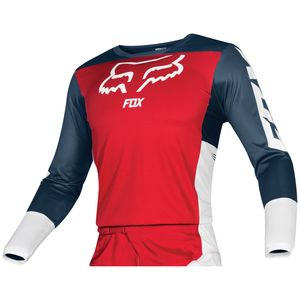 Maillot Cross Fox 180 - Przm - Navy Red 2019
