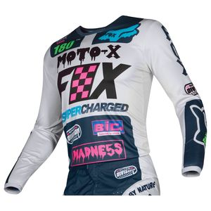 Maillot Cross Fox Youth 180 - Czar - Light Grey 2019