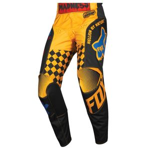 Pantalon Cross Fox Youth 180 - Czar - Black Yellow 2019