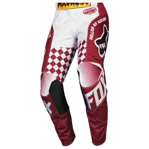 Pantalon cross 180 - CZAR - CARDINAL 2019 Rouge/Blanc