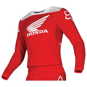 Maillot Cross Fox 180 - Honda - Red 2019