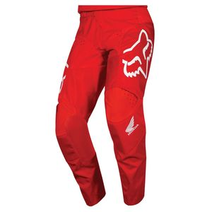 Pantalon Cross Fox 180 - Honda - Red 2019