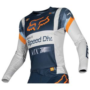 Maillot Cross Fox Youth 360 - Murc - Light Grey 2019