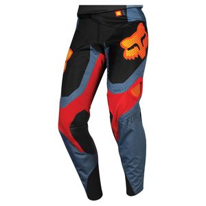 Pantalon cross YOUTH 360 - MURC - BLUE STEEL  Gris/orange