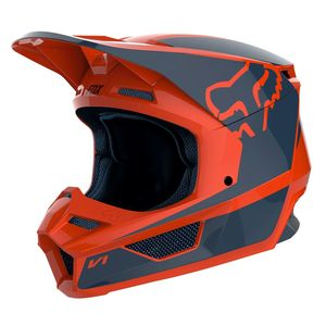 Casque Cross Fox V1 Youth - Przm - Orange 2019