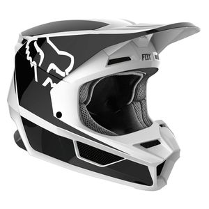 Casque Cross Fox V1 Youth - Przm - Black White 2019